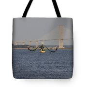 The Shrimp Boat Predator  Art Tote Bag