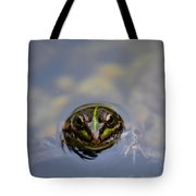 The Shy Frog Tote Bag