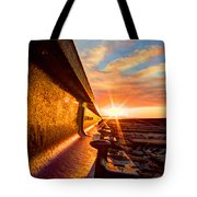 The Side Of The Rail Tote Bag