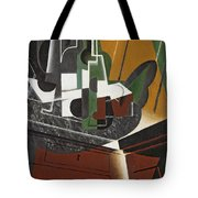 The Sideboard, 1917 Oil On Plywood Tote Bag