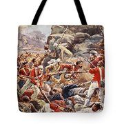 The Siege Of Delhi, 1857 Storming Tote Bag