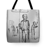 the Sign boys Tote Bag
