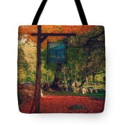 The Sign Of Fall Colors Tote Bag