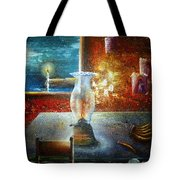 The Silence Of The Hills Tote Bag