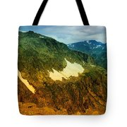 The Silent Mountains Tote Bag
