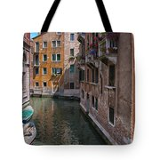 The Silent Street Tote Bag