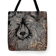The Silver Wolf 2 Tote Bag