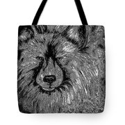 The Silver Wolf Tote Bag