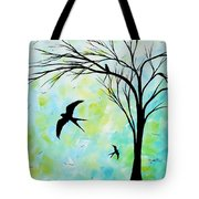 The Simple Life By Madart Tote Bag