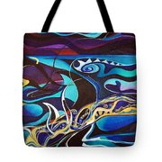 the singing of the Sirens Tote Bag