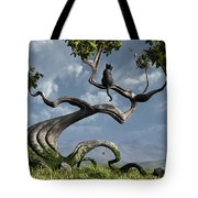 The Sitting Tree Tote Bag by Cynthia Decker