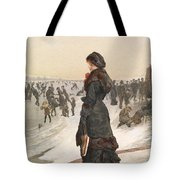 The Skater Tote Bag by Edward John Gregory
