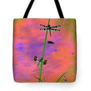 The Skimmer And The Whitetail Art #1 Tote Bag