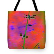 The Skimmer And The Whitetail Art #2 Tote Bag