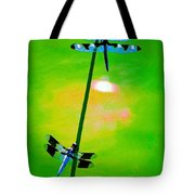 The Skimmer And The Whitetail Art #3 Tote Bag