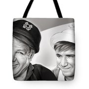 The Skipper And Gilligan Tote Bag