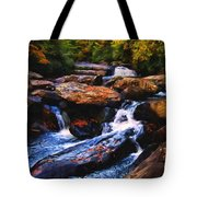 The Skull Waterfall Tote Bag