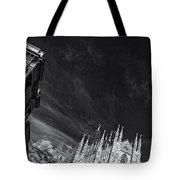 The Sky Over Cathedral Tote Bag
