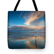 The Sky Whispered Tote Bag