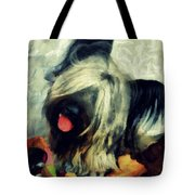 The Skye  Terrier Tilt   Tote Bag