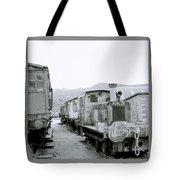 The Steam Train Tote Bag