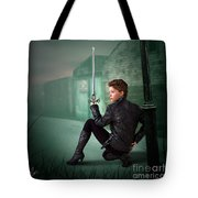 The Slayer Of The Dock Tote Bag