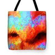 The Smell Of Color Tote Bag