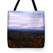 The Smokey Mountains From Hanging Rock State Park Tote Bag
