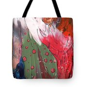 The Smoking Woman Tote Bag