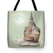 The Snail's Dream Tote Bag
