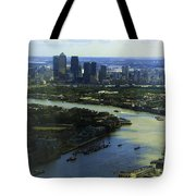 The Snaking River Thames Tote Bag