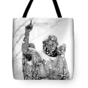 The Snow Angel Tote Bag