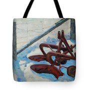 The Snow Plow Tote Bag