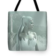 The Snow Queen Tote Bag by Melissa Krauss