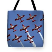 The Snowbirds Keeping It Tight Tote Bag