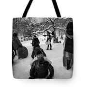 The Snowboarders Tote Bag