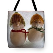 The Snowdens Are Engaged Tote Bag