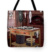 The Soft Clock Shop Tote Bag by Mike McGlothlen