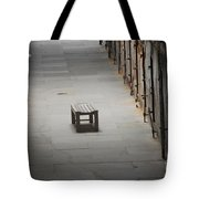 The Solitary Seat Tote Bag
