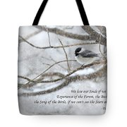 The Song Of The Birds Tote Bag
