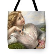 The Song Of The Lark Tote Bag