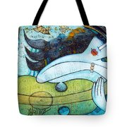 The Song Of The Mermaid Tote Bag