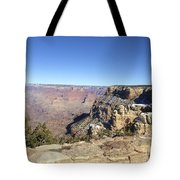 The South Rim In The Winter Tote Bag