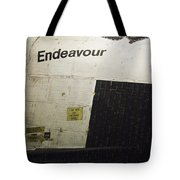The Space Shuttle Endeavour 13 Tote Bag