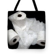 The Spare Rolls 3 - Toilet Paper - Bathroom Design - Restroom - Powder Room Tote Bag