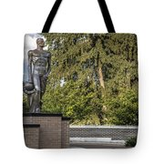 The Spartan Statue At Msu Tote Bag
