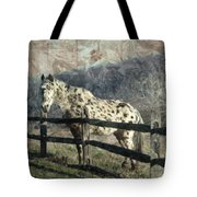 The Speckled Horse Tote Bag