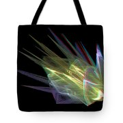 The Speed Of Light - Use Red/cyan Filtered 3d Glasses Tote Bag