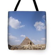 The Sphinx Egypt Tote Bag