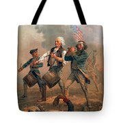 The Spirit Of 76 Tote Bag by Granger